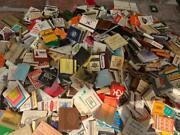 Vintage Matches Matchbooks 15 Lbs+ Restaurants-bars-lounges-airlines-motels- +