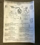 1925 A-z Auto-electrician Cadillac Chevy Olds Buick Reo Manuel Photo Copy @ Of