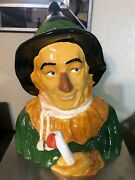 1994 Wizard Of Oz Scarecrow Cookie Jar Star Jars Limited 306 Of 1939 No Issues