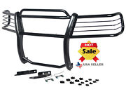 Open Box Fits 2002-2005 Ford Explorer 4dr 4 Door Grille Brush Guard In Black