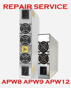 Mail-in Repair Service For Antminer Power Supply Unit Apw8 Apw9 Apw12