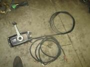 Force Outboard Side Mount Control Box 10and039 Cables Read Description