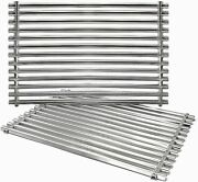 15 Stainless Steel Cooking Grill Grates For Weber, Genesis Silver A, Spirit 500
