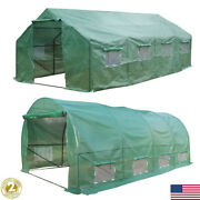 20′x10′x7′ Portable Greenhouse Walk In Green House Outdoor Plant Gardening Large