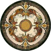Marble Dining Table Top Peitra Dura Art Hallway Table With Royal Look 50 Inches