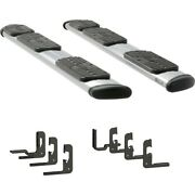 477113-401447 Luverne Running Boards Set Of 2 New Polished For Chevy Gmc Pair