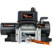 76-50115bw Mile Marker Winch New For Ram Truck Bronco F150 F250 Ford F-150 F-250