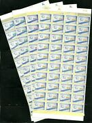 Israel Stamp Sheets 1998 National Flag Emergency Issue Mnh Xf Rare