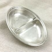 Vintage Silver Plate Serving Bowl Dish Mappin Webb Pando Shipping Line Cruise Ship