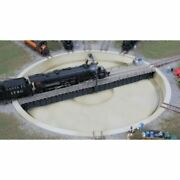 Walthers 933-2618 - Motorized 130' Turntable -- Assembled - 10-3/8 26.3cm Ov...