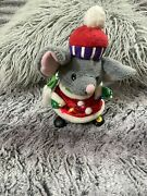 Gammy Industry Battery Operated Animated Singing Christmas Mouse With Lights