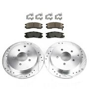 Brake Disc And Pad Kit New For Chevy Olds Chevrolet Venture Pontiac Montana