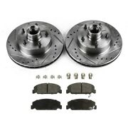 Brake Disc And Pad Kit New For Chevy Olds Le Sabre Cutlass Chevrolet Camaro Nova