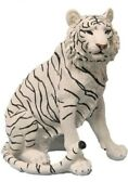 World Of Wonders Ishtar White Tiger Large Statue Figure--new--resin Approx 20 In