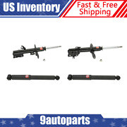 Kyb 4 Shocks For Struts Fits Nissan Rogue 08 09 10 11 12 - 339196 339197 349097