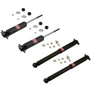 Set-ky343157-c Kyb Shock Absorber And Strut Assemblies Set Of 4 New For Chevy
