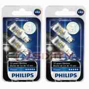 2 Pc Philips Rear Side Marker Light Bulbs For Lincoln Continental Mark Viii Ih