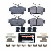 Pst-627a Powerstop Brake Pad Sets 2-wheel Set Rear New For Ford Mustang 94-2004