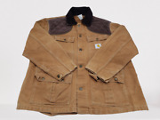Vintage Mens Size Xl Duck Bird Hunting Jacket Coat Game Pouch Cu256 Usa