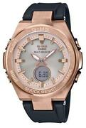 Casio Baby-g Msg-w200g-1a1jf Watch Womenand039s Black Pink