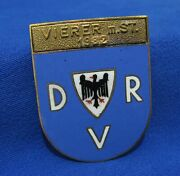 German Wwii 1932 Changed To 1982 Drv Rowing Federation Large Badge Order