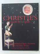 Christieand039 Catalogue Oct 2003 Toys Mechanical Music Automata Dolls + Results