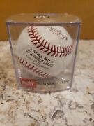 Rawlings Mlb 2016 World Series Champions Chicago Cubs Official Baseball Cubed