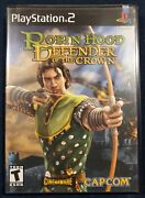 Robin Hood Defender Of The Crown Sony Playstation 2 2003 Sealed New