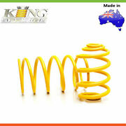 2x New King Springs Standard Height Coil Springs For Rover 3500 P6 Type-rear