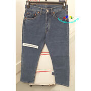 501 Made In U.k. Button Fly Jeans 005010193 Blue Mens Size 31x30