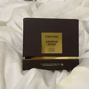 Tom Ford Candle Arabian Wood Nib Sealed Box Sold Out 2.25andrdquo Discontinued
