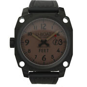 U-boat Thousands Of Feet 135.5327 Pvd Steel 50mm Leather Manual Wind Menand039s Watch