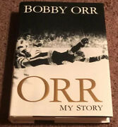 Signed Orr My Story By Bobby Orr Autographed Book Jsa Authenticated Rare