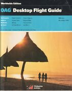 Oag Official Airline Guide Timetable 1991/dec Worldwide Edition