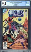 Rare Amethyst Princess Of Gemworld 2 Cgc 9.8 35 Cent Price Variant Double Cover