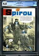 Spirou 1460 Cgc 4.0 1st Full Appearance Smurfette Free Priority Shipping