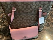 Coach Handbag Newwith Tags Includes Wallet And Checkbook Holder