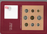 Coin Sets Of All Nations Ussr Russia W/card 1976-1979 Ruble 5020 Kopeck 76 Unc
