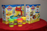 Play-doh Kitchen Creations Bundle Toaster Creations - Noodle Party Sets And Bonus