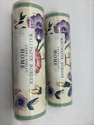 Laura Ashley Home Wallpaper Border 2 New Sealed Rolls Chinese Silk Vintage