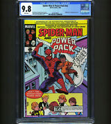 Spider-man And Power Pack Nn Cgc 9.8 - 1st Spider-man Comic Produced With Ncpca