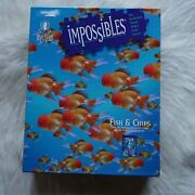 Fish Puzzle Bepuzzled Impossibles Puzzle Fish And Chips 1994 Hard Goldfish Puzzle