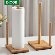 Wood Toilet Paper Holder Kitchen And Bathroom Rolls Accessories Roll Paper Stand