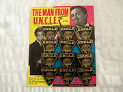 Lone Star The Man From Uncle No.2 Badge Shop Display Card - Near Mint From 1965