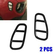 Exterior Side Lamp Covers Black.car Styling Accessories Protector Portable