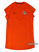 Nike Pro Breathe Cleveland Browns Cap Sleeve Fitted Shirt Nfl Team Issue Pe L