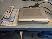 Direct Tv D11 100 Satellite Receiver Box With Cords, Cables, Remote, And Book