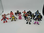 Hasbro Marvel Super Heroes And Others - Lot Of 14 - Mini Figures