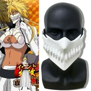 Anime Bleach Hollow Halibel Mask Halloween Cosplay Props Costume Accessories New