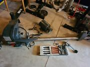 Possibly New Sears Craftsman 12 Inch Wood Lathe With Chisels Nos
